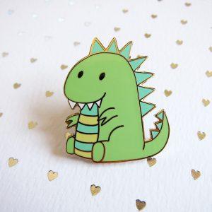 Moomii, the T-Rex Dinosaur Pin