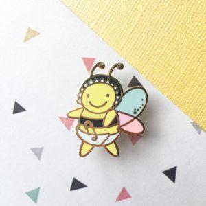 Sweet Dreams Baby Bee Pin