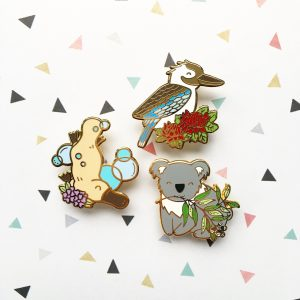 Australian Animals Pin Set