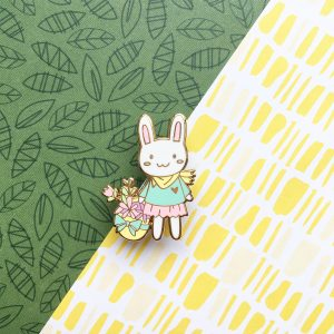 Forest Rabbit Pin
