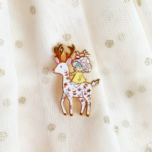 Forest Deer Pin